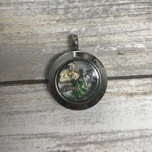 Origami Owl Locket and Charms